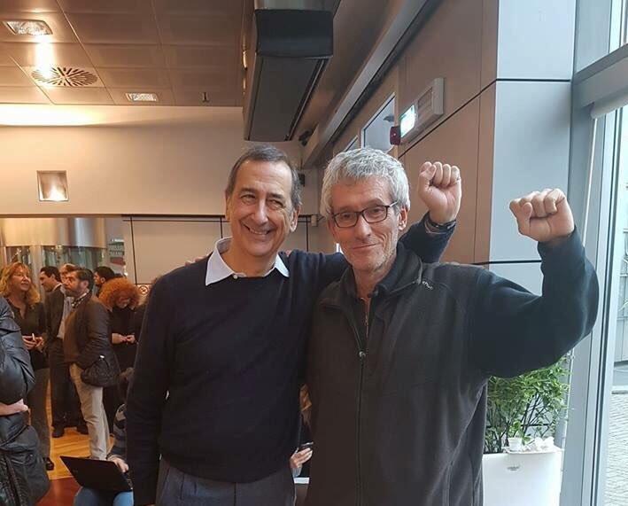 Beppe Sala e Carlo Monguzzi