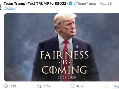 Trump e il Trono di Spade
