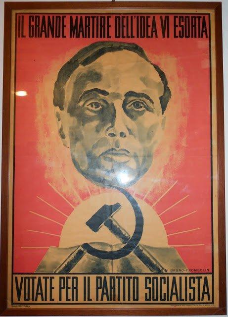 Manifesto Matteotti Partito Socalista