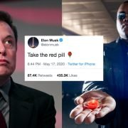 Elon Musk pillola rossa