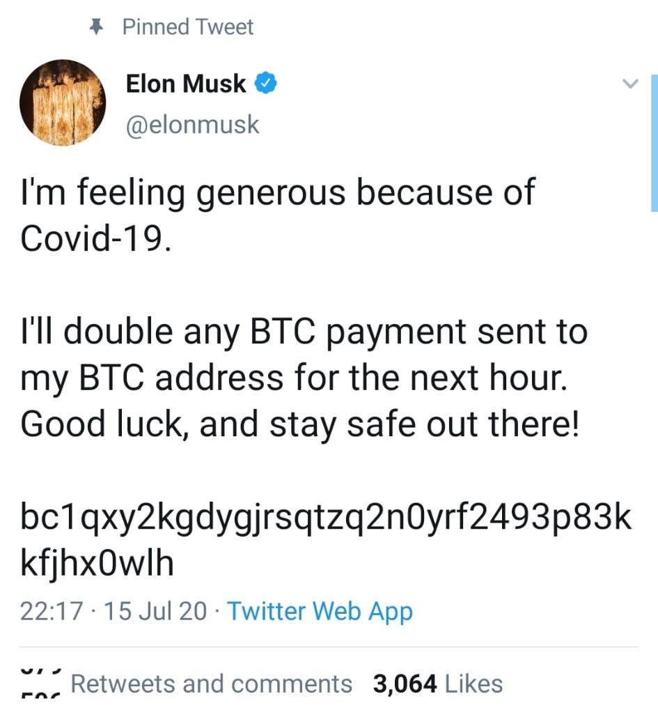 Twitter hacked Elon Musk