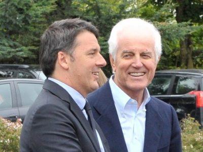 Benetton innamorato di Renzi