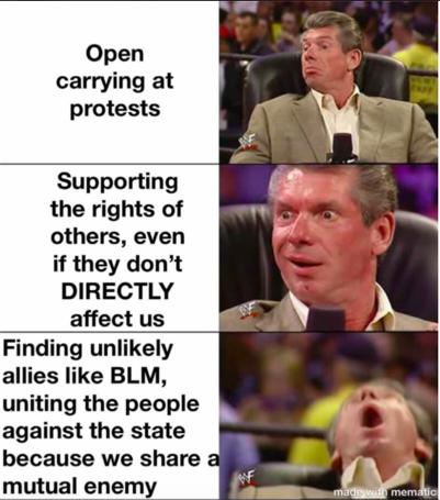 boogaloo blm meme