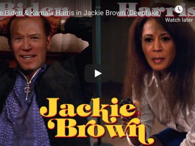Deepfake politici Joe Biden & Kamala Harris in Jackie Brown