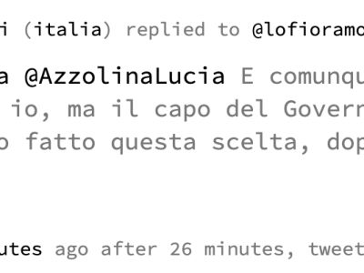 Fioramonti ex ministro dell'istruzione sulla Azzolina