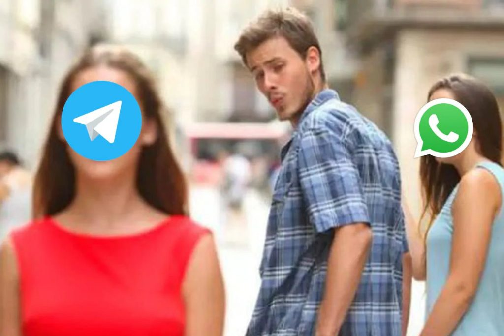 Telegram whatsapp