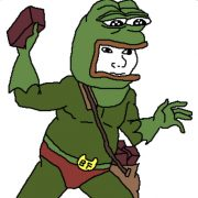 birck frog rana mattonista