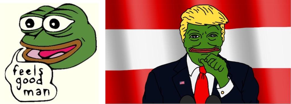 pepe the frog trump