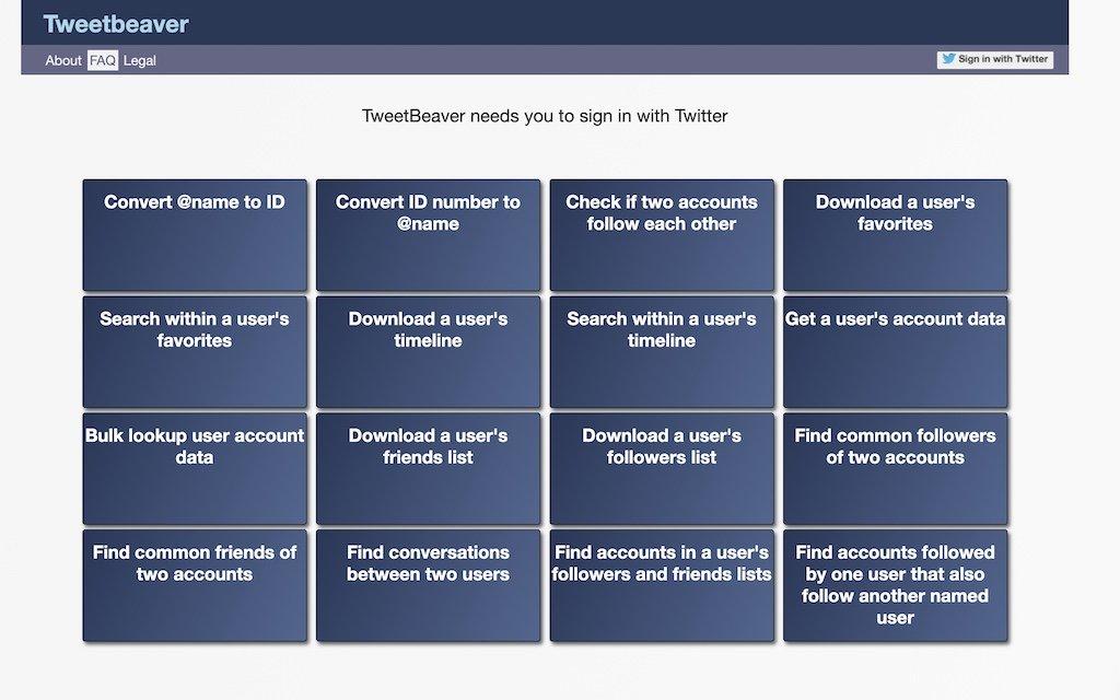 TweetBeaver