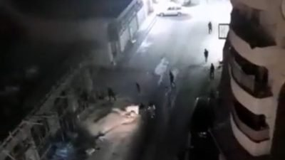 Le immagini degli scontri armati tra palestinesi e ISF la notte scorsa nel campo di Shuafat a Gerusalemme est.